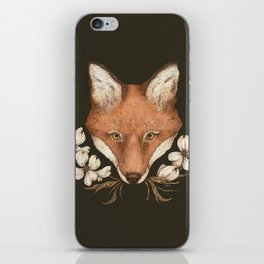 The Fox and Dogwoods iPhone Skin