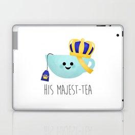 His Majest-tea Laptop & iPad Skin