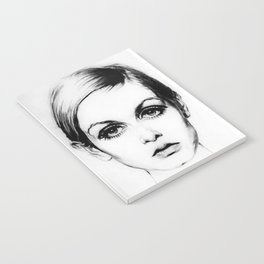 60's Eyelashes Notebook