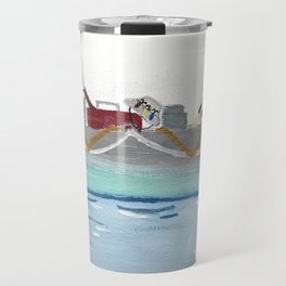 Fishing Boat Travel Mug