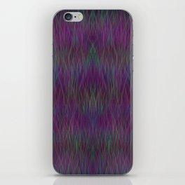 Multi- coloured Grass Design iPhone Skin