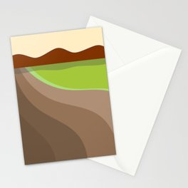 Abstraction No007 Stationery Cards