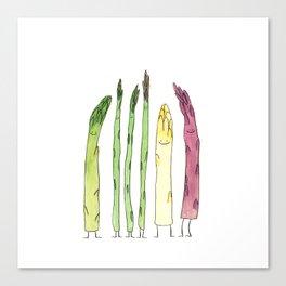 Asparaguys Canvas Print