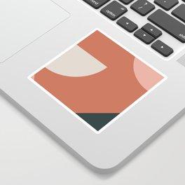 Orbit 03 Modern Geometric Sticker