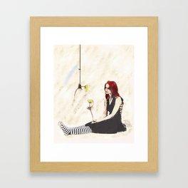Silent Treatment Framed Art Print