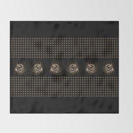 Abstract 17 001h Throw Blanket