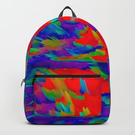 psychedelic rainbow gradient 0930 Backpack