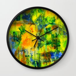 slow crawl to safety Wall Clock