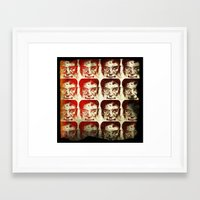 yankees Framed Art Prints featuring Iron man by 6-4-3