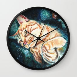 Is This Your Cat? Wall Clock