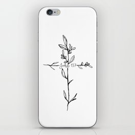 John 13:7 Cross iPhone Skin