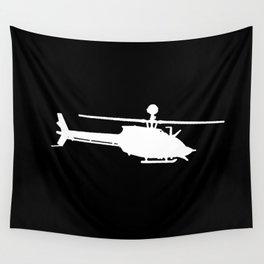 OH-58 Kiowa Wall Tapestry