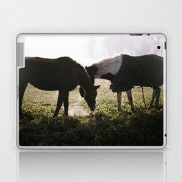 Misty horses Laptop & iPad Skin