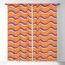 Summer Waves Blackout Curtain