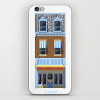 movies iPhone & iPod Skins featuring Day at the Movies by Chris Redford