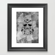 Storm Trooper #1 Framed Art Print