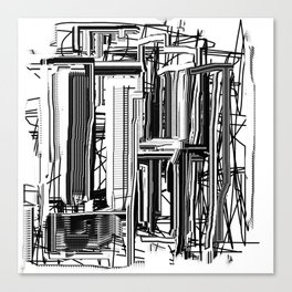 Abstract City #2 Canvas Print