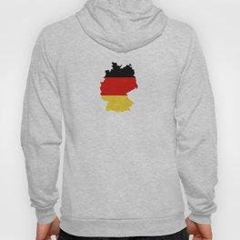 germany flag map Hoody