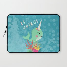Narwhal Be Unique Laptop Sleeve
