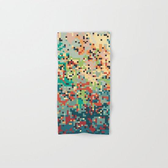 Pixelmania I Hand & Bath Towel
