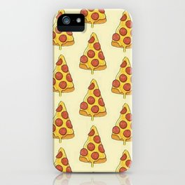 Greedy pizza iPhone Case