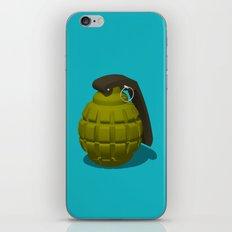 Hand Grenade iPhone & iPod Skin