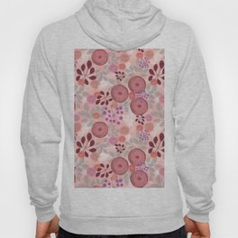Abstract floral pattern. Hoody