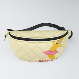Just Dance with Banana Ballerina Fanny Pack
