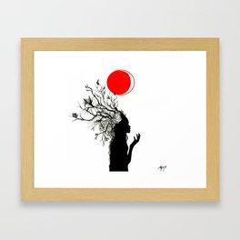 Fertile Mind Framed Art Print