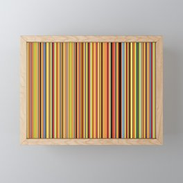 Old Skool Stripes - Bold Framed Mini Art Print