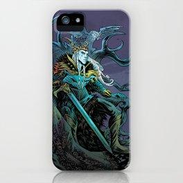 Elf King - Purple iPhone Case