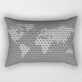 World map 4 Rectangular Pillow