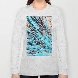 streaking through the cosmos Long Sleeve T-shirt