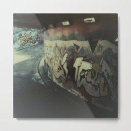 London Graffiti Metal Print