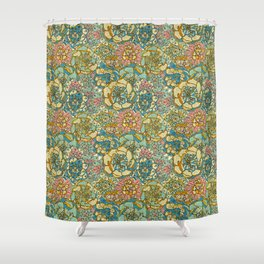 Succulent Love Shower Curtain