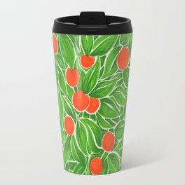 Citrus pattern Travel Mug