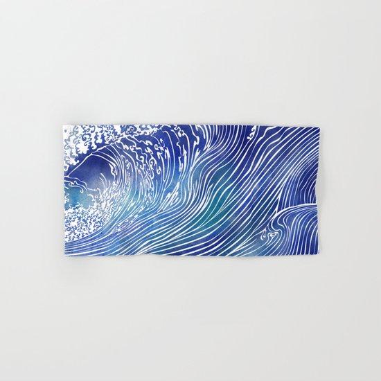 Pacific Waves Hand & Bath Towel