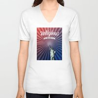 religious V-neck T-shirts featuring Religious Liberty by politics