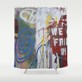 Friends Shower Curtain