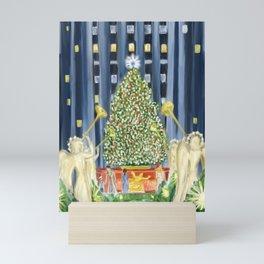 Christmas in New York Mini Art Print