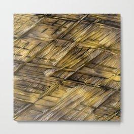 Grannys Hut - Structure 1A Metal Print