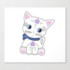 Bella the cat Canvas Print