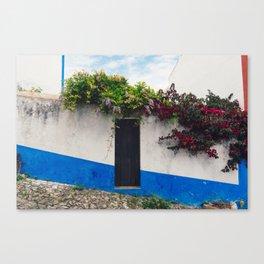 Doorways in Óbidos, Portugal Canvas Print