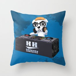 DJ KK Slider Throw Pillow