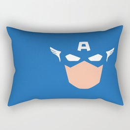 Superhero America Captain Rectangular Pillow