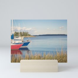 Morning on Chesapeake Bay, No. 2 Mini Art Print