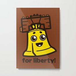 For Liberty Metal Print