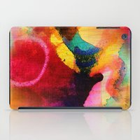 circles iPad Cases featuring Circles by mimulux