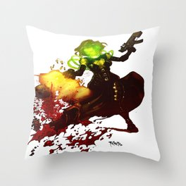 Anne Frankenstein AF2 Throw Pillow
