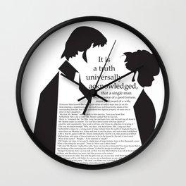 P&P Wall Clock